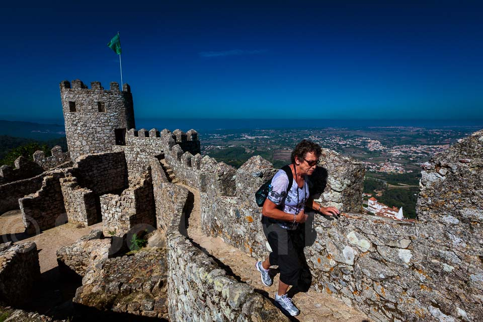 Castle of the Moors @ Sintra, Portugal