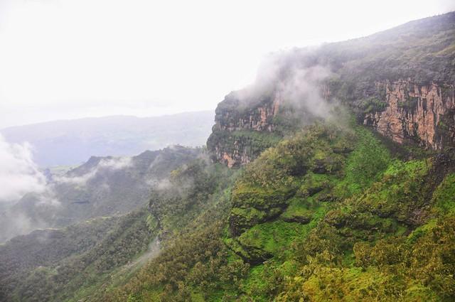 Las Montañas Simien, macizo de Abisinia, Etiopía.
