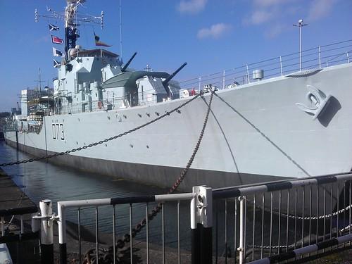 HMS Cavalier - Chatham Historic Dockyard