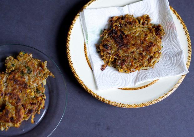 SWEET POTATO POTATO PANCAKES / foodloveswriting.com