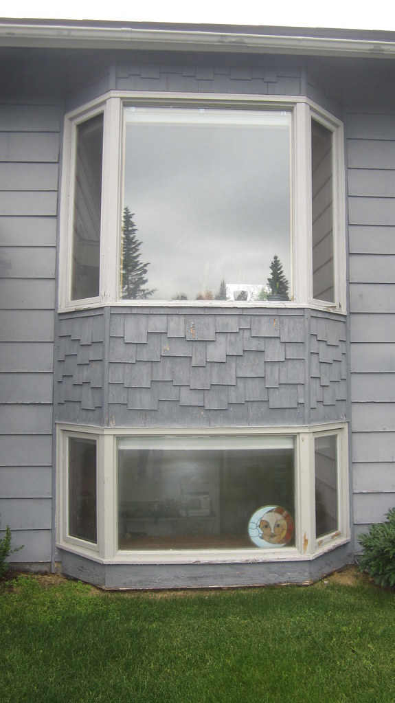 Bay windows neighbors windows doors for Vinyl bay window