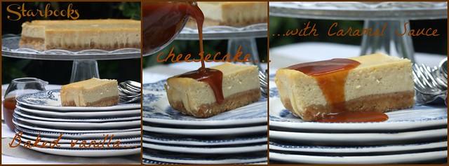 Baked vanilla cheesecake
