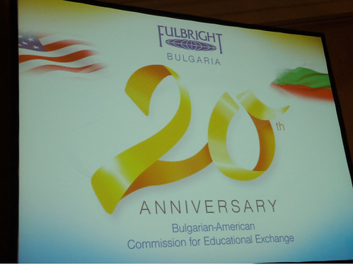 Executive Director visits Bulgaria for Commission Anniversary and the European University Institute in Florence (to promote Fulbright-Schuman).