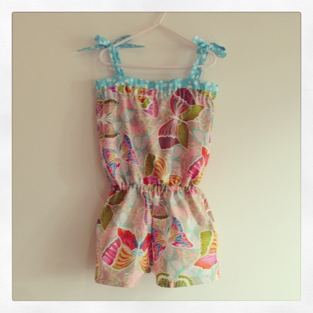 Size 5 Cocoon playsuit