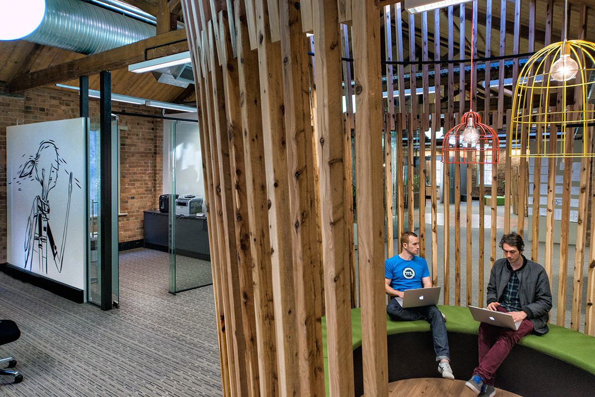The Envato meeting pods
