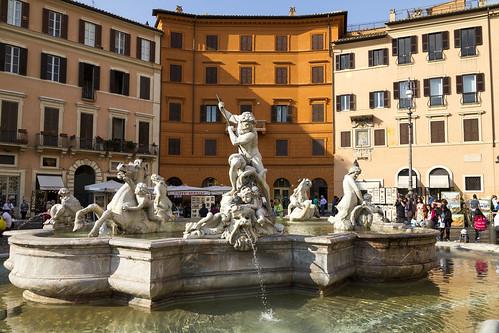 [3992] Piazza Navona, Fontana del Nettuno