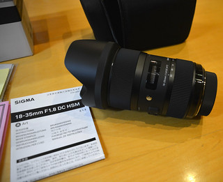 My new Sigma 18-35mm f/1.8 DC HSM Art Lens For Nikon Unboxing 4/4
