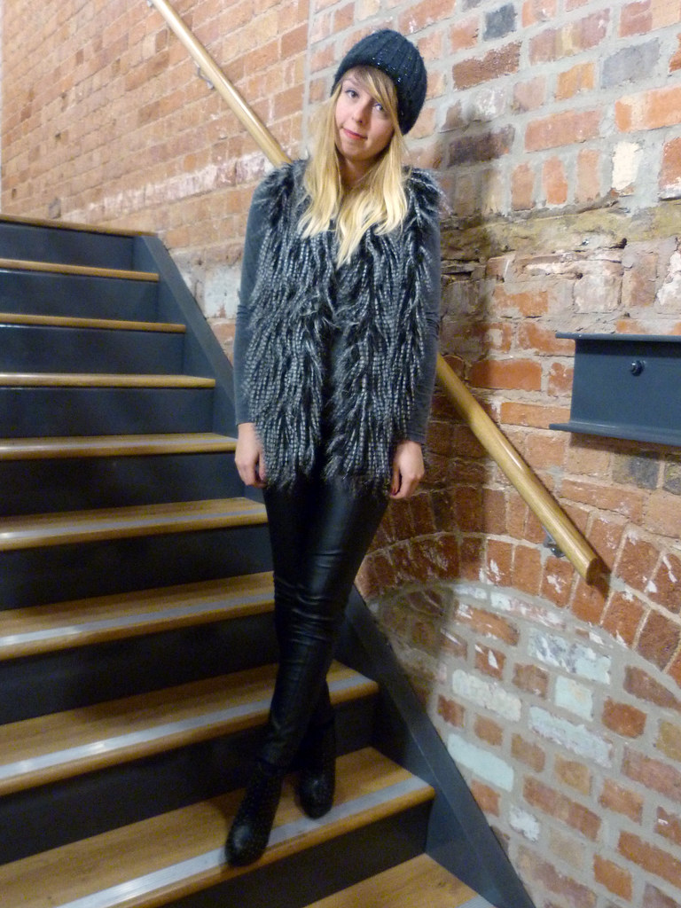 Faux Fur Gilet | Sheffield Fashion Blogger | Outfit post