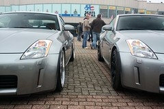 automobile, automotive exterior, wheel, vehicle, automotive design, nissan 350z, rim, bumper, land vehicle, coupã©, supercar, sports car,