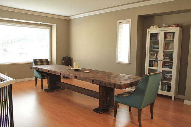 Our DIY Dining Table
