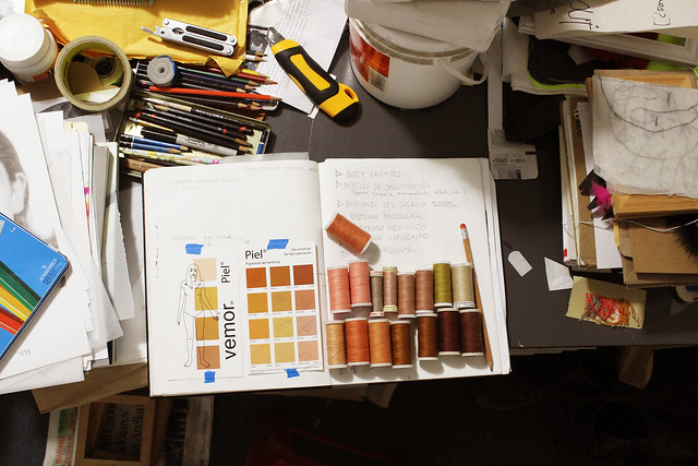 studio work.