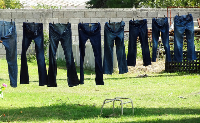 jeans-clothesline