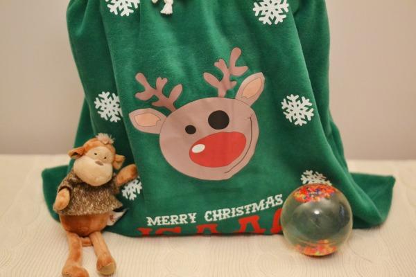 Child's Christmas Sack
