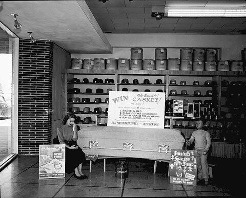 Circa 1949.