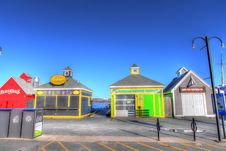 Cold, closed and colourful, Halifax, NS - HDR