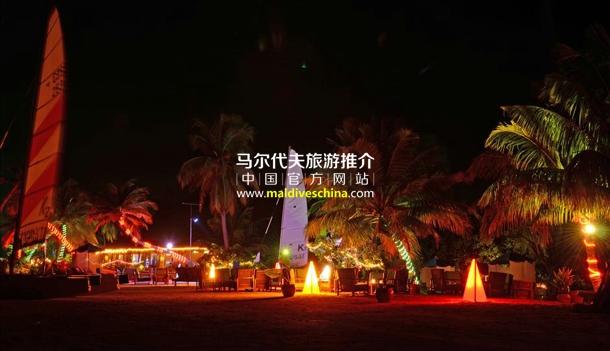 幸福岛(Herathera Island Resort)沙滩晚会活动