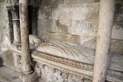 Tomb of Hugues d'Amiens in Rouen Cathedral