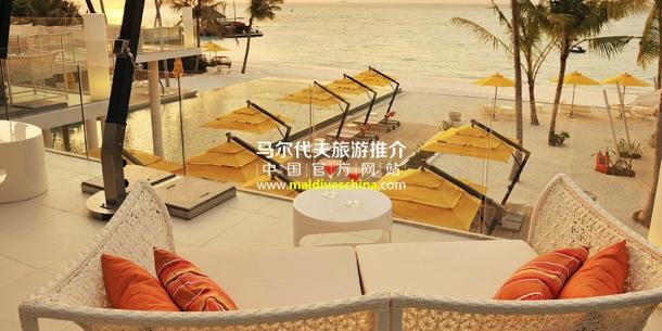 马尔代夫度假村正餐