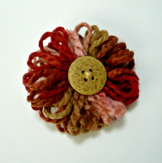 Flower Brooch/Lapel Pin
