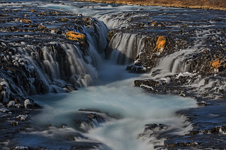 Brúarfoss waterfall - Iceland