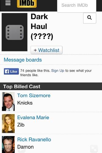 DARK HAUL IMDB
