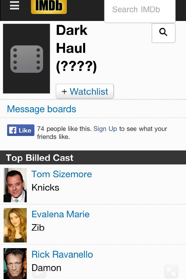 DARK HAUL IMDB | Evalena Marie Actress | Flickr