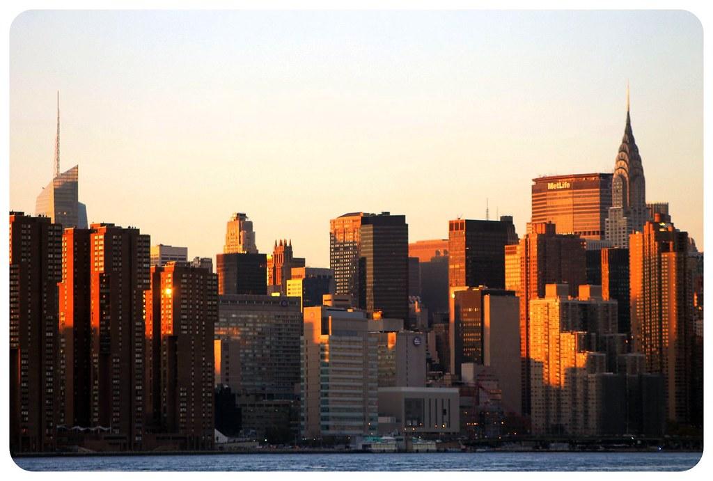 Manhattan skyline seen from Williamsburg