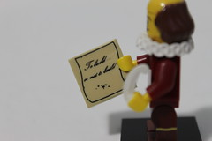 The LEGO Movie Collectible Minifigures (71004) - William Shakespeare