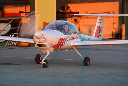 sunset aviation katana flugplatz cordula stockerau dv20 loau