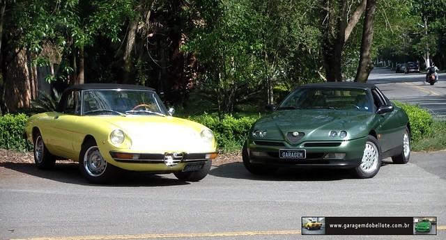 Alfa Romeo Spider (1974) e Alfa Romeo Spider (1995)