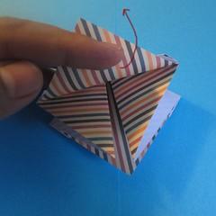 วิธีการพับกระดาษเป็นโบว์หูกระต่าย 013