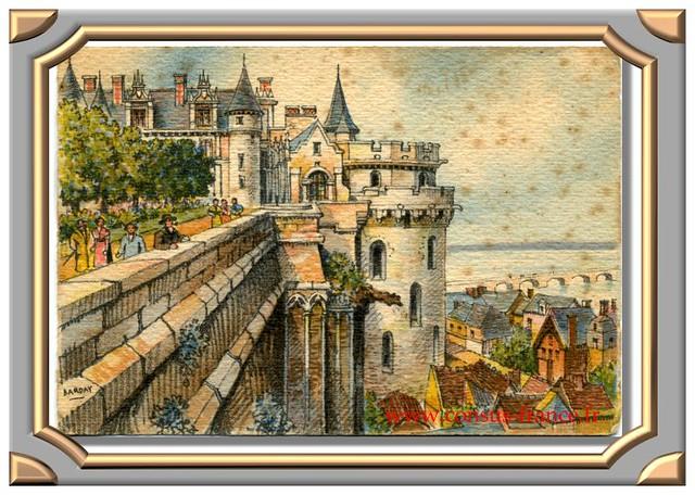 AMBOISE - Le Château (vue sur la Loire) 2035 B