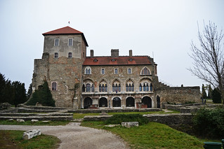 The stone castle in Tata / Hungary
