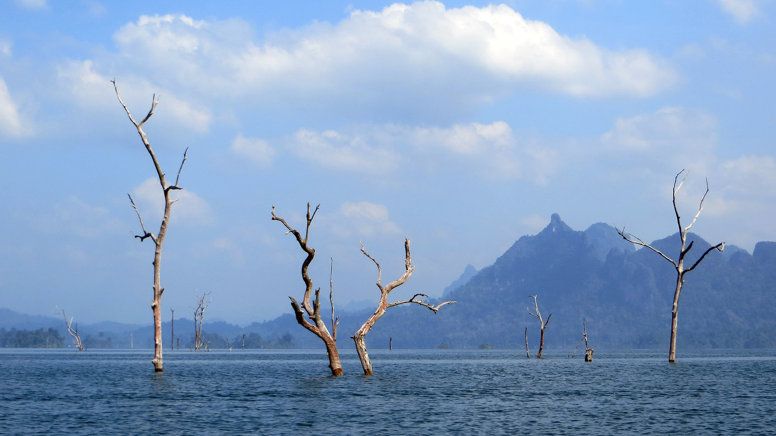 Dark side of traveling - Ratchaprapra Dam, Khao Sok National Park, Thailand, Jan 2014