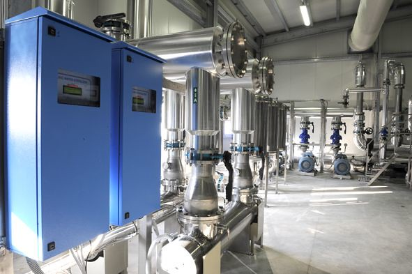 Water treatment plant for Parmalat