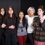 Warpaint live in Studio A on 1.16.14.