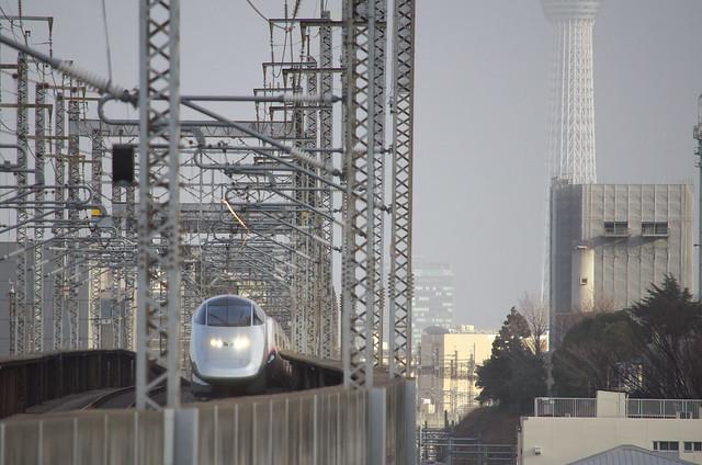 Tokyo Train Story 東北新幹線 2014年1月26日