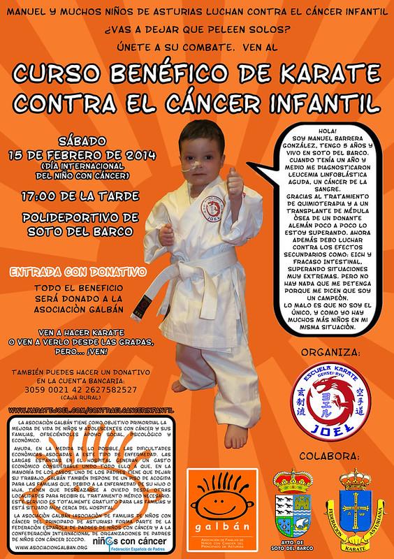 Curso Benéfico de Karate contra el Cáncer Infantil