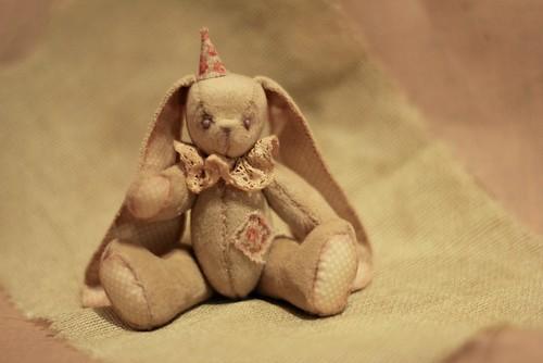 An Old Circus Bunny