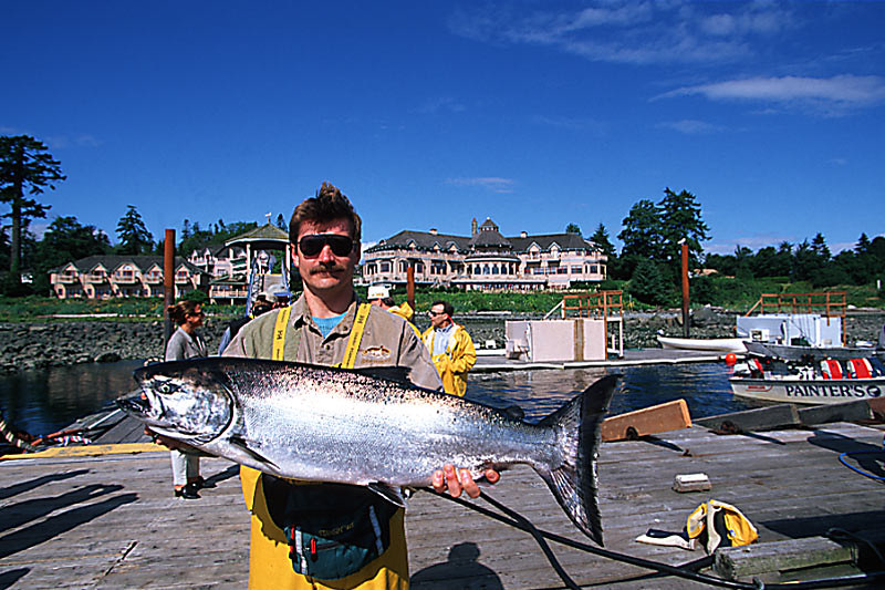 Painters Lodge in Campbell River, Vancouver Island, British Columbia, Canada