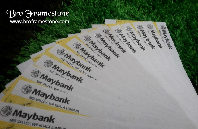 Maybank Cheque