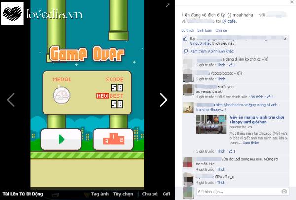 Cách 12 cung đương đầu với cơn sốt Flappy Bird