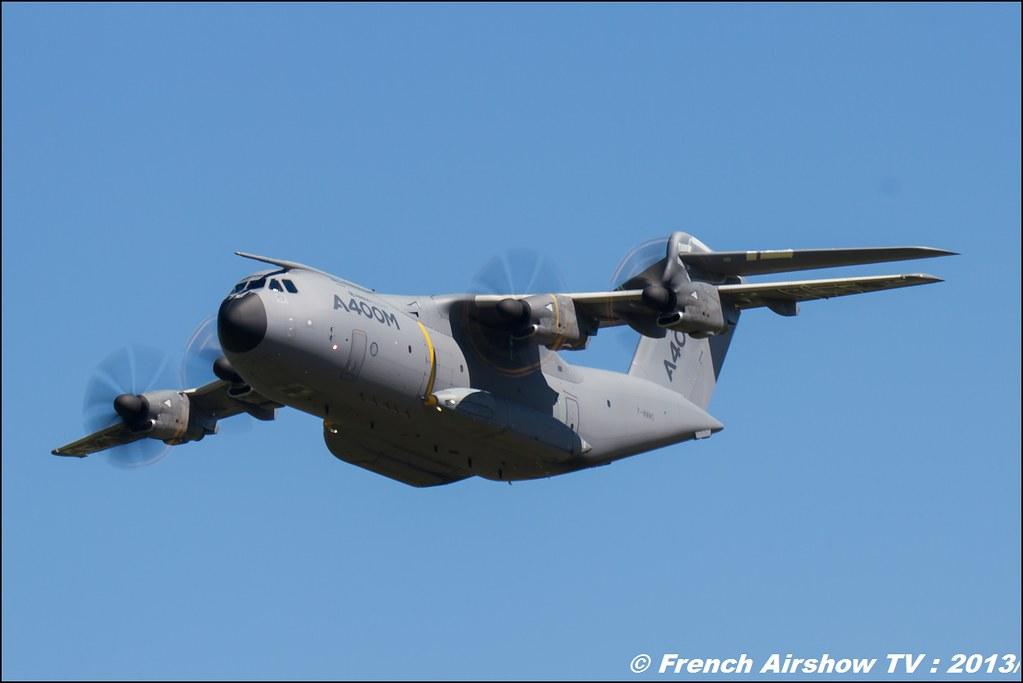 A-400M Airbus Military ,60 ans Patrouille de France, Meeting Aerien 2013