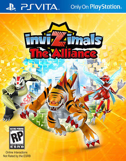 Invizimals: The Alliance on PS Vita