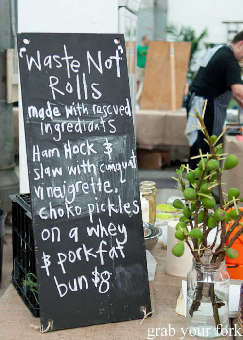 Waste Not Rolls by Cornersmith at the Sunday Marketplace, Rootstock Sydney 2014