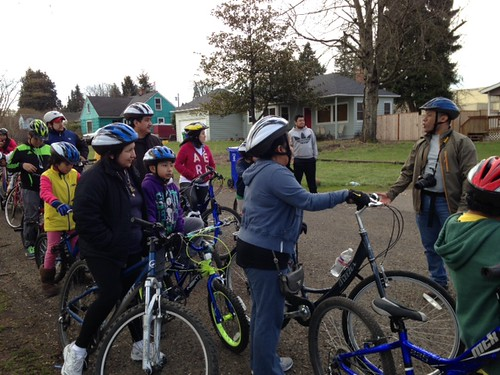 Verde bike ride led by ABC