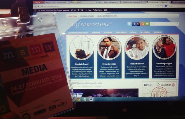Media Blogger MSMW2014