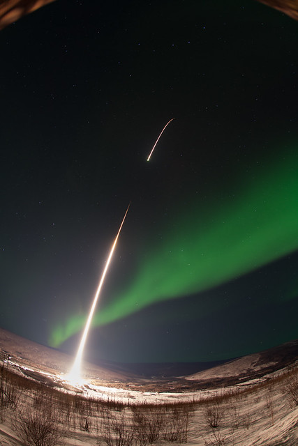 GREECE Mission Launching Into Aurora