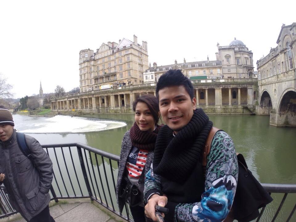 Gambar Awal Ashaari &Amp; Scha Alyahya Melancong Di Birmingham
