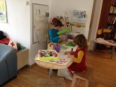 Living room workspace evolution